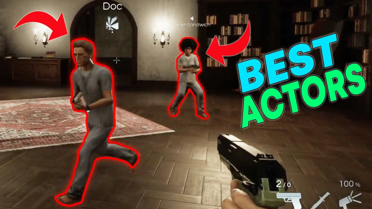 Horror Game Deceit with Friends - YouTube