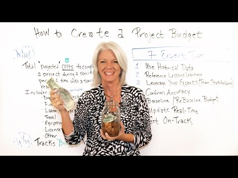 How to Create a Project Budget - Project Management Training