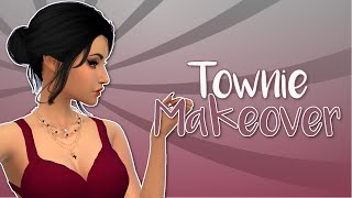 The Sims 4 | Townie Makeover [EP 2]: The Goth Family