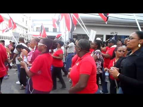 PNM Rally in Trinidad May 2014