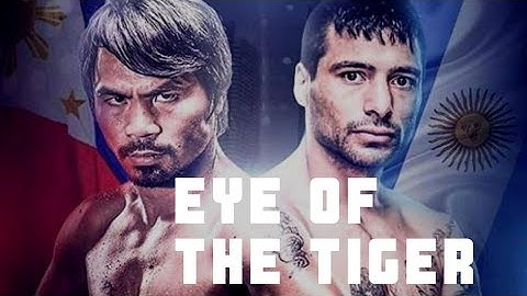 Manny Pacquiao Eye of The Tiger Pacquiao vs Matthysse