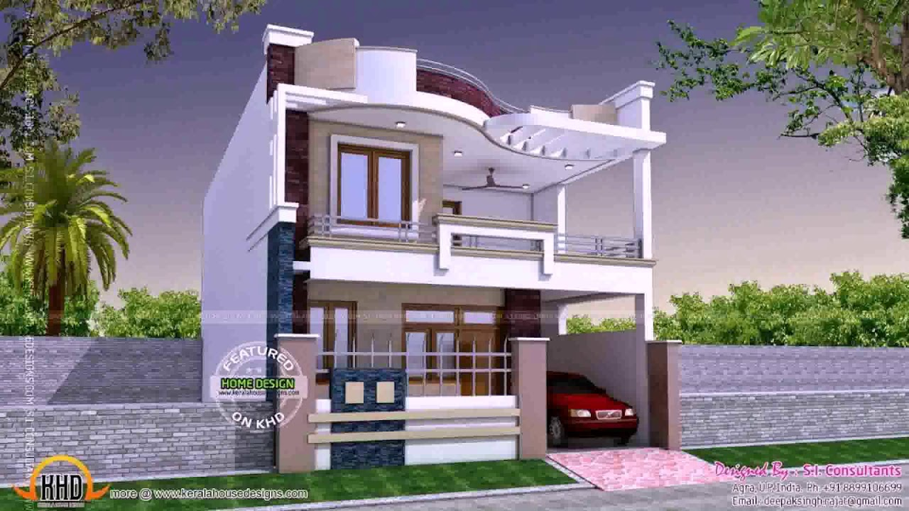 Building Front Balcony Design Youtube