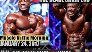 sharpening the blade muscle in the morning january 24 2017