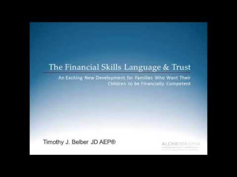 Financial Skills Trust - Timothy Belber and Peter Johnson