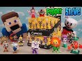 Cuphead Funko Mystery Minis FULL CASE UNBOXING Toys Figures w/ Cuphead Plush Vinyl Trailer song