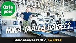 Käytetty: Mercedes-Benz GLK (34 900 €) - Mikä täällä haisee?