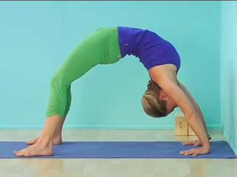 wheel pose sequence yoga journal at home  youtube