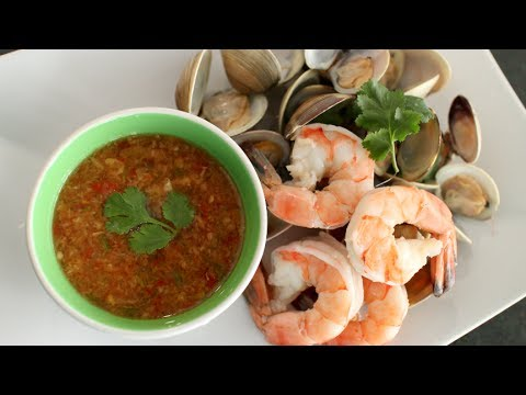 Seafood Dipping Sauce Recipe นำ้จิ้มซีฟู้ด – Hot Thai Kitchen