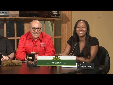 Cigar Time Show 44 reviews the Banker Premium Cigar by Altadis