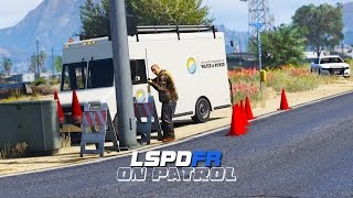 LSPDFR - Day 310 - Construction Zone
