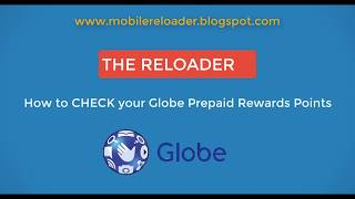 How to CHECK your Globe Prepaid Reward Points in your Pocket Wifi using PC