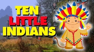 Ten Little Indians | English Nursery Rhymes With Lyrics