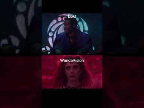 Wanda cria o Multiverso   Episódios finais de Loki e WandaVision sincronizados!