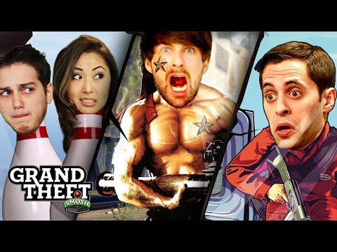 MORE FUNNY MOMENTS (Grand Theft Smosh)