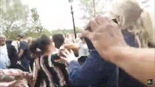CRAZY FIGHT BETWEEN ISABELLA & HECTOR : SPEAKERS CORNER