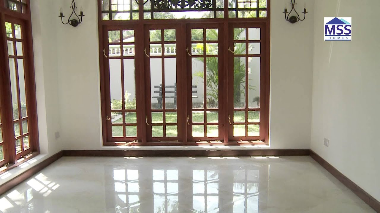 Mss homes 04 youtube for Window design sri lanka