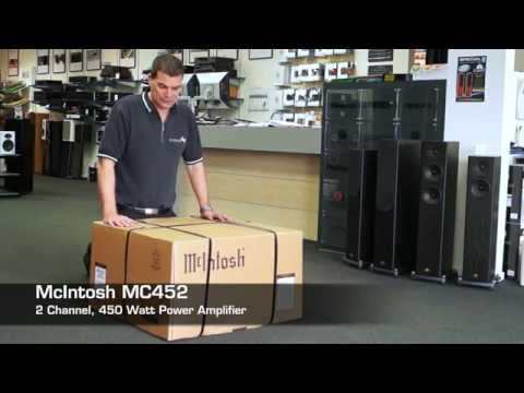 McIntosh MC452 Power Amplifier unboxing. TLP CHC | WGT.