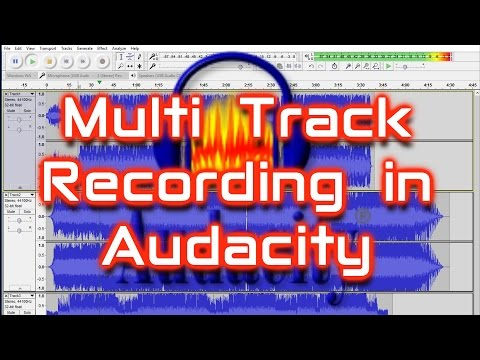 How to Record Multi Track in Audacity
