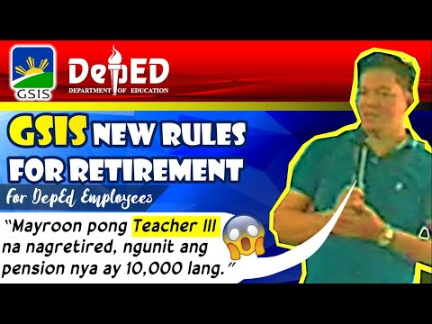 GSIS Policy for Retirement Benefits