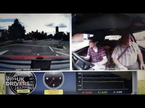 Range Rover Bully Road Rage at Learner Driver & Instructor  in Braintree Essex. 2015 Accidents.