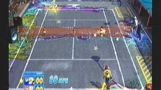 Sega Superstars Tennis (PS3) Beat vs Gum (Jet Set Radio)