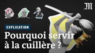 Roland Garros : pourquoi le service à la cuillère au tennis fascine ou exaspère