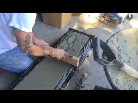 Making a diy concrete curb youtube where music meets your desktop solutioingenieria