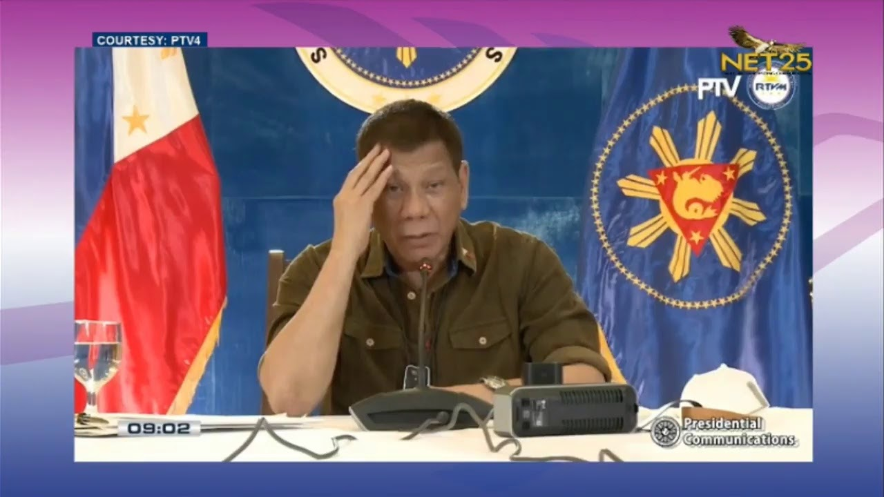 WATCH: President Rodrigo Duterte addresses to the nation (Oct. 27, 2020)