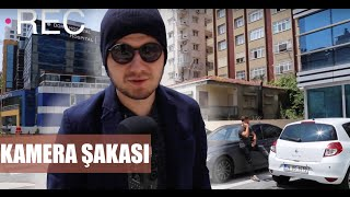 FATİH YASİN'E KAMERA ŞAKASI YAPTIK!!