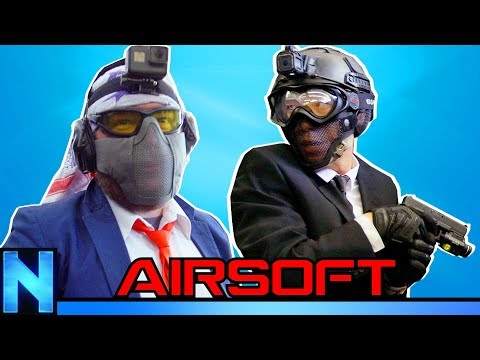 AIRSOFT Bodyguard Game!