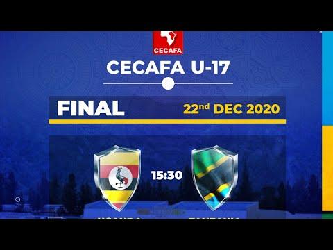 FINAL CECAFA U-17: UGANDA vs TANZANIA