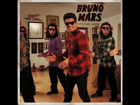 The Lazy Song by Bruno Mars LYRICS