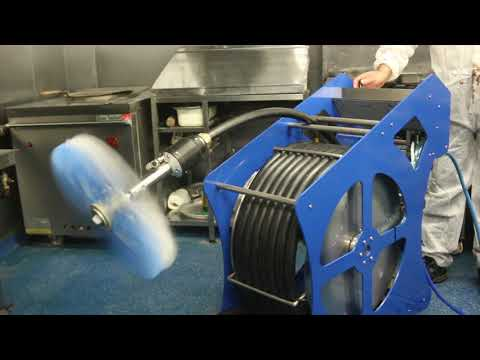HEY Ductwork Cleaning Brush Machine and Foamer