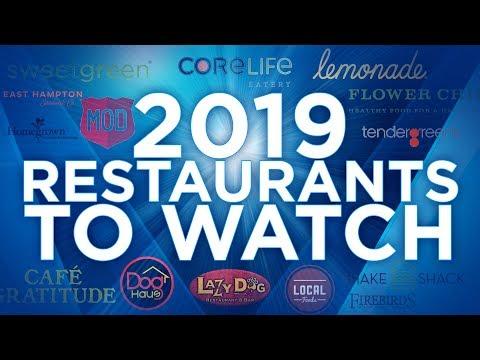2019 Restaurant Brands To Watch | The Barron Report LIVE