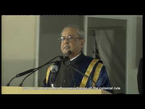 Hon'ble President of India - 52nd Annual Convocation IIM Calcutta