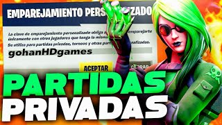 PARTIDAS PRIVADAS FORTNITE COSTA ESTE