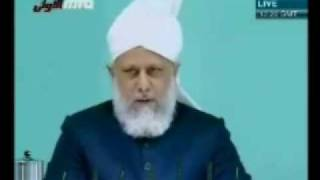 Проповедь Хазрата Мирзы Масрура Ахмада (25-12-09) часть 2
