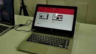 Toshiba Satellite Click 2 Hands On [4K]
