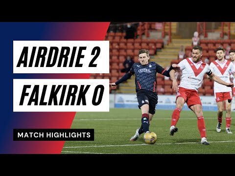 Airdrieonians Falkirk Goals And Highlights