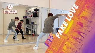 [TUTORIAL] BTS - FAKE LOVE | Dance Tutorial by 2KSQUAD
