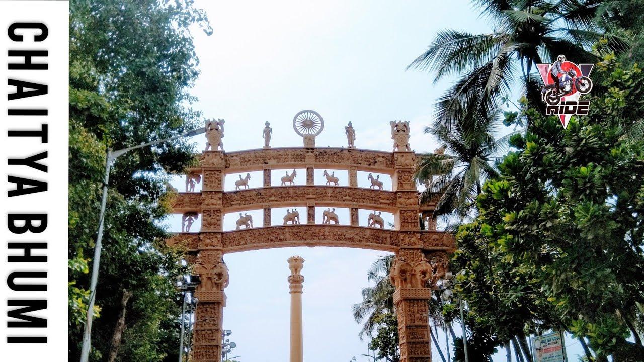 Chaitya Bhoomi(Dr. Babasaheb Ambedkar Mahaparinirvan Memorial) episode 03 |#buddhistplace #v_ride_