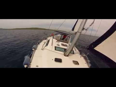 GoPro Sailing in The Aegean Sea