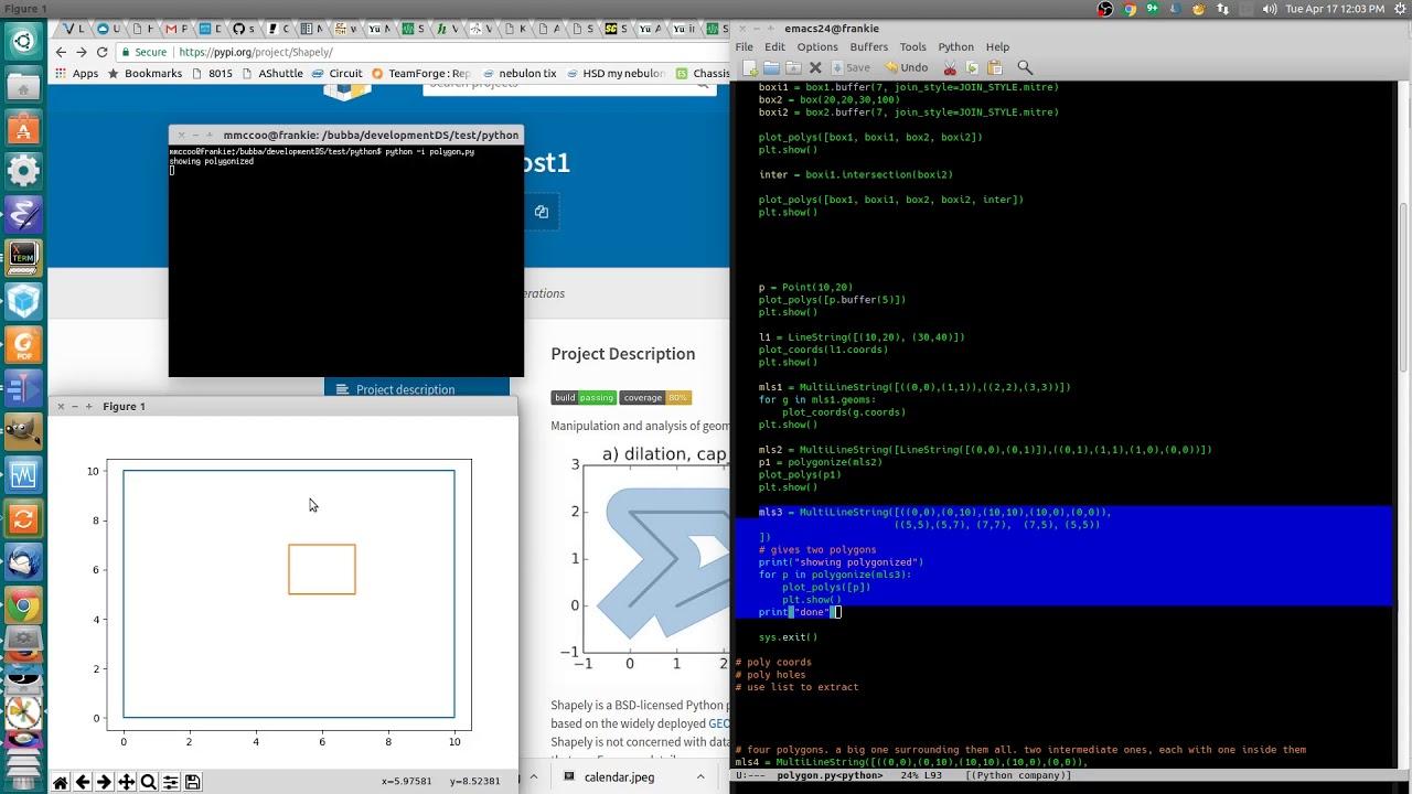 Python shapely tutorial part 1