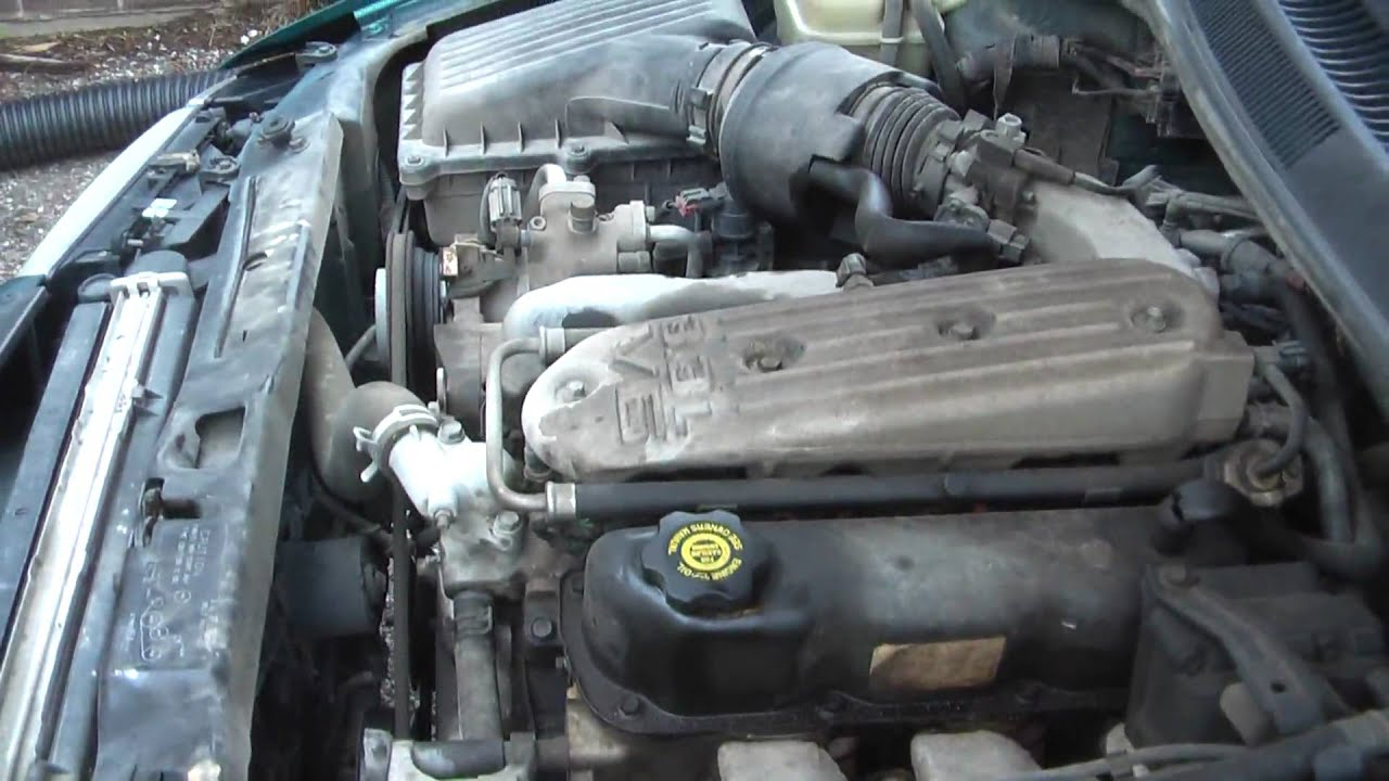 dodge intrepid alternator location