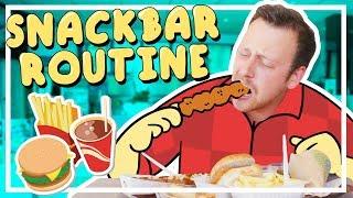 MIJN SNACKBAR ROUTINE | Routine met Rick