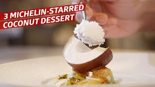 how-le-bernardin-s-executive-pastry-chef-turned-a-coconut-into-an-edible-work-of-art-sugar-coated