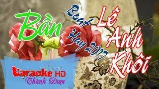 Bần | Beat Cực Hay | Tone Nam | Karaoke By Thành Được