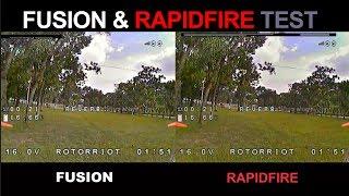TBS Fusion & RapidFire test