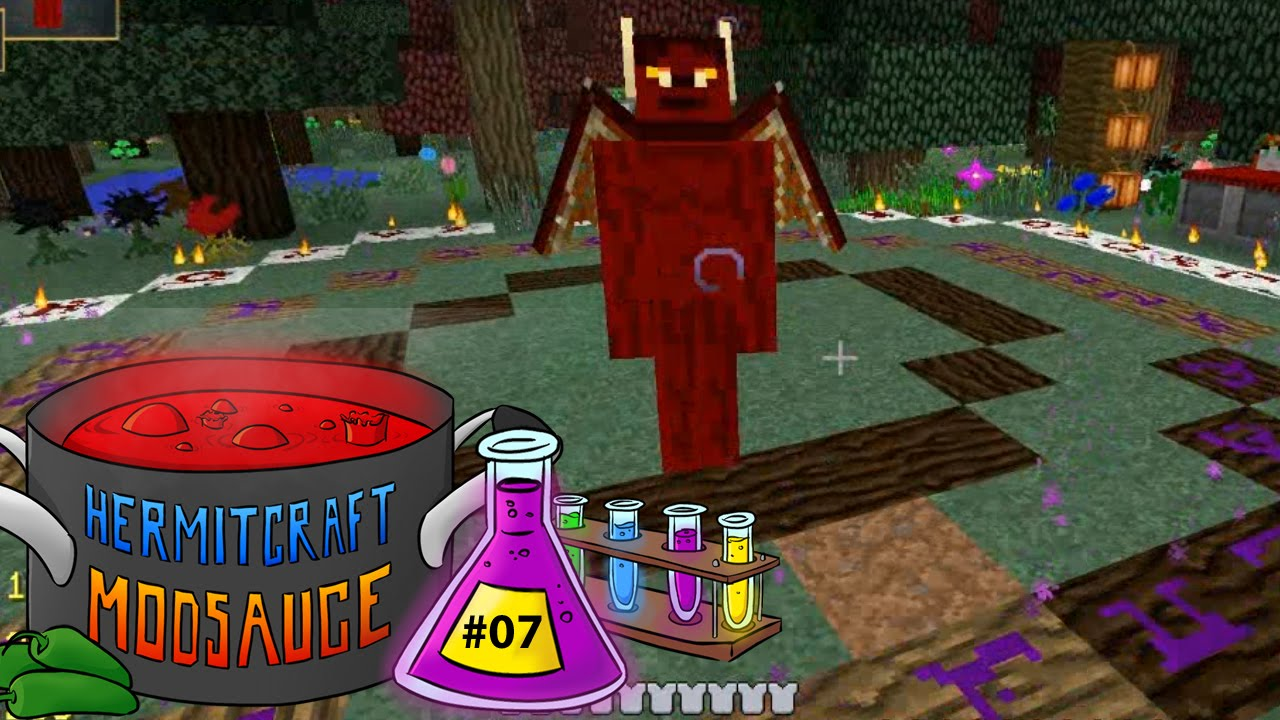 Hermitcraft Modsauce - 07 - Witchery: How to Summon Demons - Modded  Minecraft