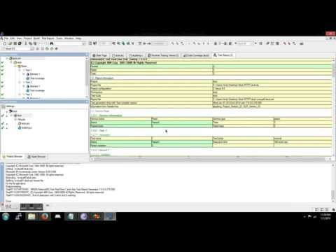 write source code and test using rtrt